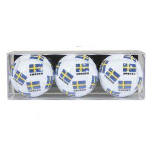 Sverige Golfbollar III - 3-pack