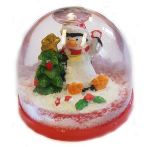 Snöglob Jul Pingvin