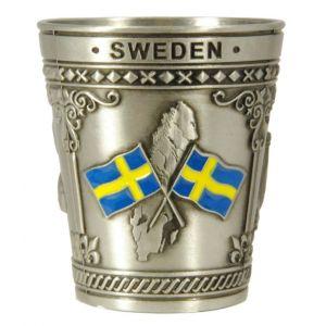 snapsglas Sweden Rostfritt Stål