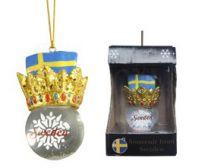 Julkula flagga/krona