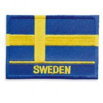 Broderad Svensk Flagga SWEDEN