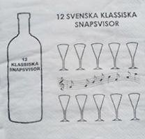 Servetter Party - Snapsvisor