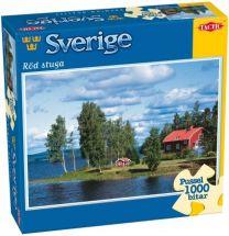 Pussel - Sverige Röd Stuga