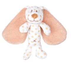 Teddy Baby Big Ears Hund Skallra