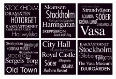 Glasunderlägg Sverige Stockholm