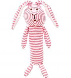 Teddykompaniet Stripes Rosa Skallra